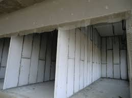 Partition Wall by Fire Resistant Light Weight Precast Hollow Core Wall Panels