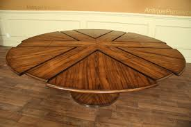 Modern Round Dining Table Wood Contemporary Jupe Table For Sale Modern Expandable Round Dinin