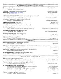 Resume Format For Journalism Jobs by Library Page Resume Sample Resume For Your Job Application
