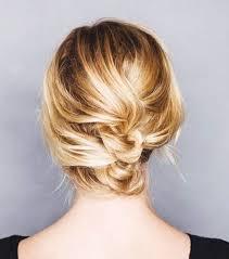 upsweep for medium length hair 12 incredibly chic updo ideas for short hair byrdie