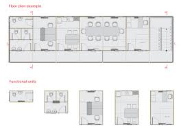 floor plan for office building engeform in plant modular office building by carolina amigo at