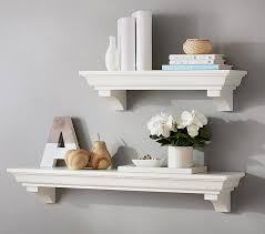 Rustic Wood Ledge Pottery Barn Winsome Inspiration Floating Shelves Pottery Barn Contemporary