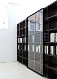 Glass Bookcase With Doors Bookcase Black Glass Door Bookcase Photos Bookcase Plans Fine