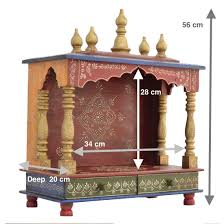 amazon com wooden temple home temple pooja mandir pooja mandap amazon com wooden temple home temple pooja mandir pooja mandap temple for home jord702 home kitchen