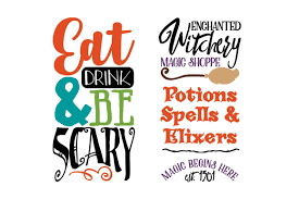 halloween svg bundle cut files for cric design bundles