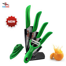 popular ceramic knife set white blade top quality kitchen buy findking brand new arrival 3