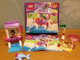 vauxhall lego lego friends lifeguard post 41028 emma u0027s splash pool 3931