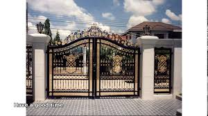 Outside Wall And Gate Designs – Modern House
