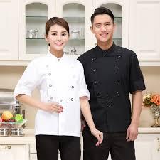 vetement de travail cuisine nouveau blanc hôtel uniforme pour cuisine cuire vêtements de