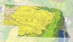 Nebraska On A Map Nebraska Geology