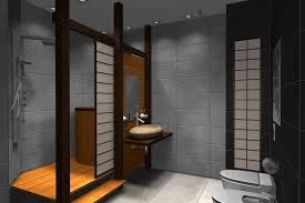 bathrooms design cool rustic japanese bathroom design interior