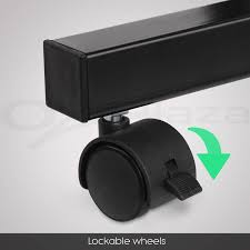 Laptop Desk Wheels by Laptop Desk Stand Bedside Table Tray Pc Ipad Mobile Note Book