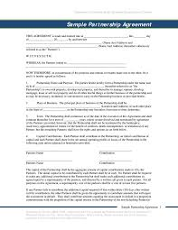 Real Estate Joint Venture Agreement Template by 8 Key Clauses That Strengthen Business Partnership Agreements