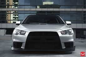 ralliart wallpaper vossen wheels mitsubishi evo vossen cv3r