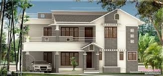 fresh classic house elevation design from triangle v 11828