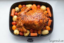Roast Whole Chicken Oven Roasted Whole Chicken Recipe Sisi Jemimah