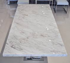 White Marble Dining Tables Modern White Marble Dining Table Table Design White Marble