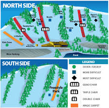 Utah Ski Resort Map by Chicopee Ski U0026 Summer Resort Trail Map Liftopia