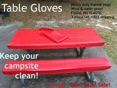 3 piece fitted picnic table bench covers 3 pc picnic table covers cing stuff pinterest picnic