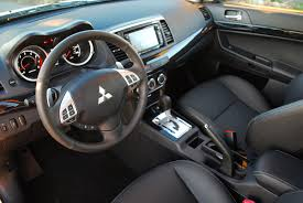 mitsubishi lancer sportback interior lancer car reviews and news at carreview com