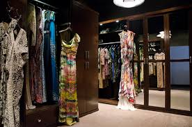 Designer Closets Designer Naeem Khan U0027s Archival Closet Commercial Design