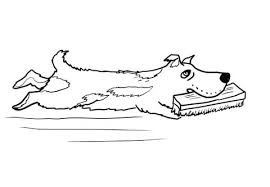 harry the dog coloring page free printable coloring pages