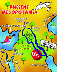 Nile River On Map Map Of Mesopotamia Mesopotamia Pinterest Ancient Mesopotamia