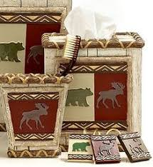 Bear Bathroom Accessories by Clearly We Need Bear And Moose Bathroom Accessories Homey