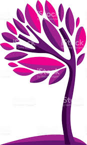 artistic stylized natural symbol creative tree illustration can be