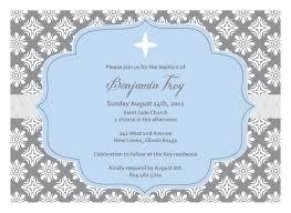 Invitation Card Example Baptism Invitations Templates Dhavalthakur Com