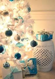 white tree blue lights amodiosflowershop