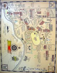 Indiana State University Campus Map by The Eisenhard Payson Legacy