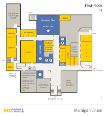 University Of Michigan Parking Map by Maps U0026 Floor Plans U2022 Conference U0026 Event Services