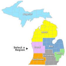 area code map of michigan area code map of michigan