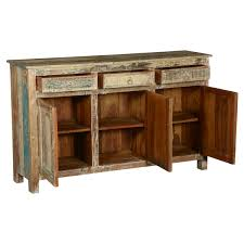 furniture narrow accent cabinet hutch and buffet distressed