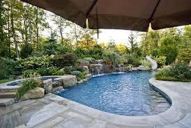 Custom Backyards Backyard Pool Landscape Ideas Backyard Landscaping Ideas Pool
