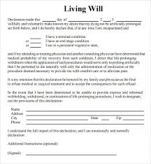sample living will template 39 last will and testament forms