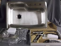 Slow Draining Kitchen Sink by Kitchen Fix Leaking Sink How To Fix Kitchen Faucet Handle Houzz