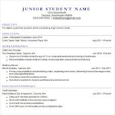 free student resume templates college resume template for high school students novasatfm tk