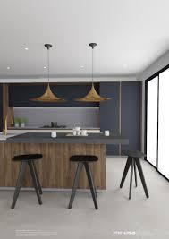 kitchen design concept minosa striking kitchen design with rich wood u0026 copper
