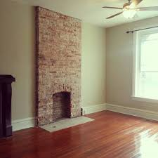 Remove Brick Fireplace by How To Remove Plaster From A Brick Chimney Exposed Brick
