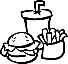 drink svg fast food burger drink and fries svg png icon free download