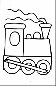 spectacular preschool train coloring pages printable with train