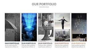 Powerpoint Portfolio Examples Smart Solutions Powerpoint Presentation Template By Rainstudio