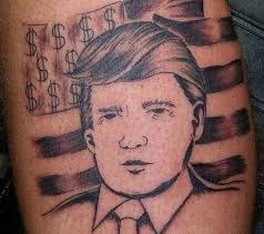 trump tattoos that make you say