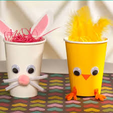 Easter Decorations Made From Paper by Best 25 Paper Cup Crafts Ideas On Pinterest Lamb Craft Sheep