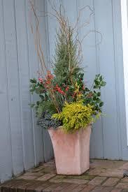 113 best winter decor for outdoor pots images on pinterest