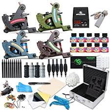 tattoo kit without machine amazon com dragonhawk complete tattoo kit 4 standard tunings tattoo