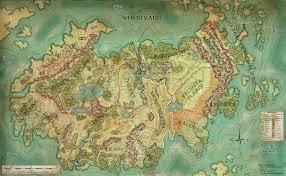 Agartha Map Khorvaire Eberron High Resolution Map D U0026d Rpg Fantasy