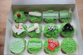 football cupcakes football and cricket cupcakes black hen